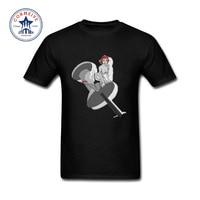 2017 Grappige Grafische Grappige Dragon tattoo gedrukt Katoen Grappige t-shirt voor mannen