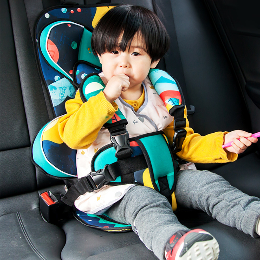 Portable Baby Safety Seat Children Car Seats Toddler Carrier Cushion Pad Infant Safe Belt Seat Thicken Mat Kids Travel Car Seat