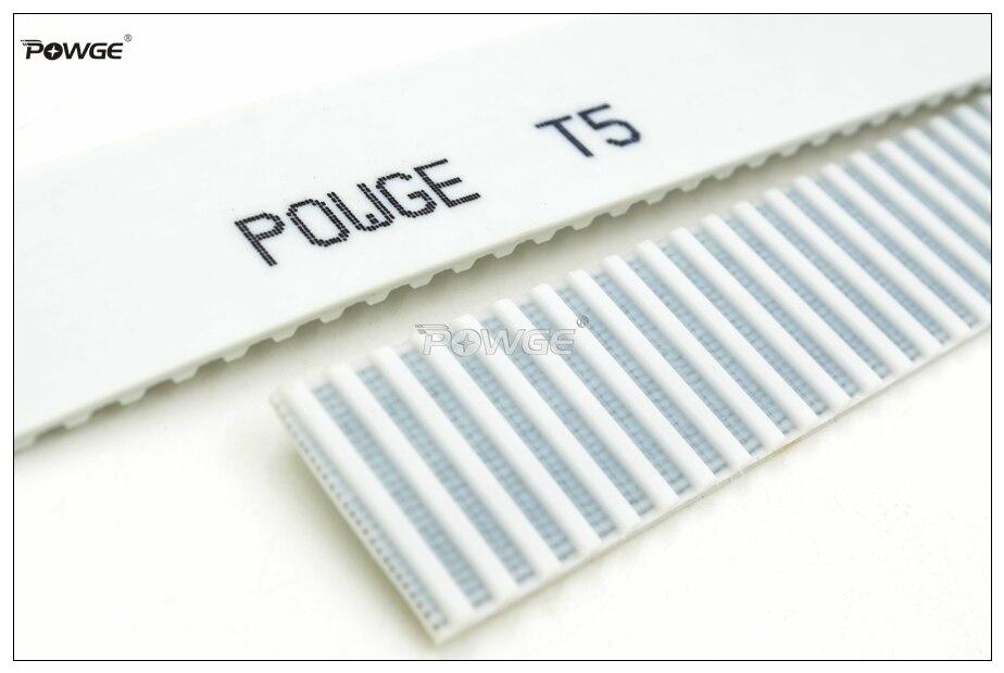 Powge 10メートルt5オープンエンドタイミングベルトT5 25幅= 25ミリメートルpuで鋼コアt5 25 at5ベルトフィットt5タイミングプーリー用cnc reprap  グループ上の 家のリフォーム からの トランスミッションベルト の中 2