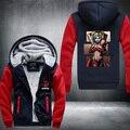 Deadpool Hoodies Costumes Hot Film Spoof Joker Autumn Winter Jackets Coats Casual Anime Men Warm Hooded Sweatshirts