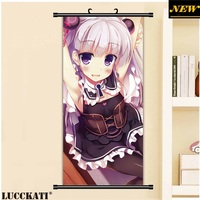 45X95CM Shinmai Maou No Testament Naruse Mio Sexy Loli Cameltoe Cartoon Anime Wall Picture Mural Scroll
