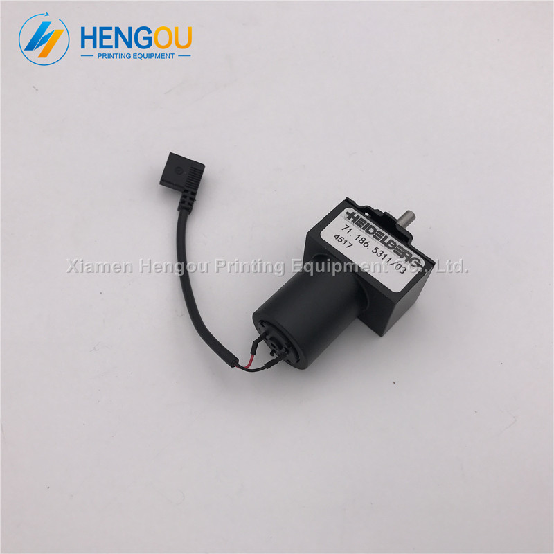 5 Pieces Free Shipping Hengoucn Printing Machine Parts SM102 Motor 71.186.53115 Pieces Free Shipping Hengoucn Printing Machine Parts SM102 Motor 71.186.5311