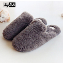 Winter new lovely shoes woman slippers casual women couples home slippers pantufa de bichos keep warm plush Slippers lady slides