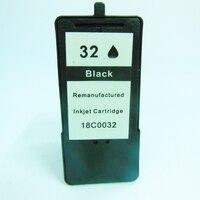 1Pk Inkjet Cartridge For Lexmark 32 18C0032 Black Ink Cartridge For Lexmark X7350 X5450 X5210 X5470