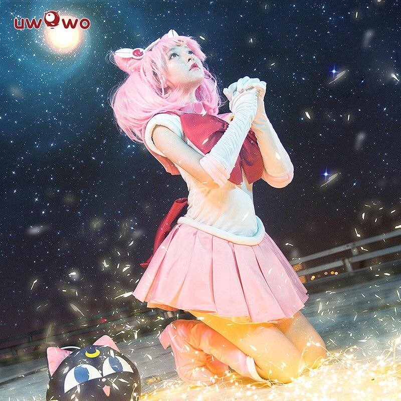 Tsukino Usagi Small Lady Serenity Cosplay Sailor Moon ChibiUsa ASCOSING Costume SailorMoon Cosplay Tsukino Usagi