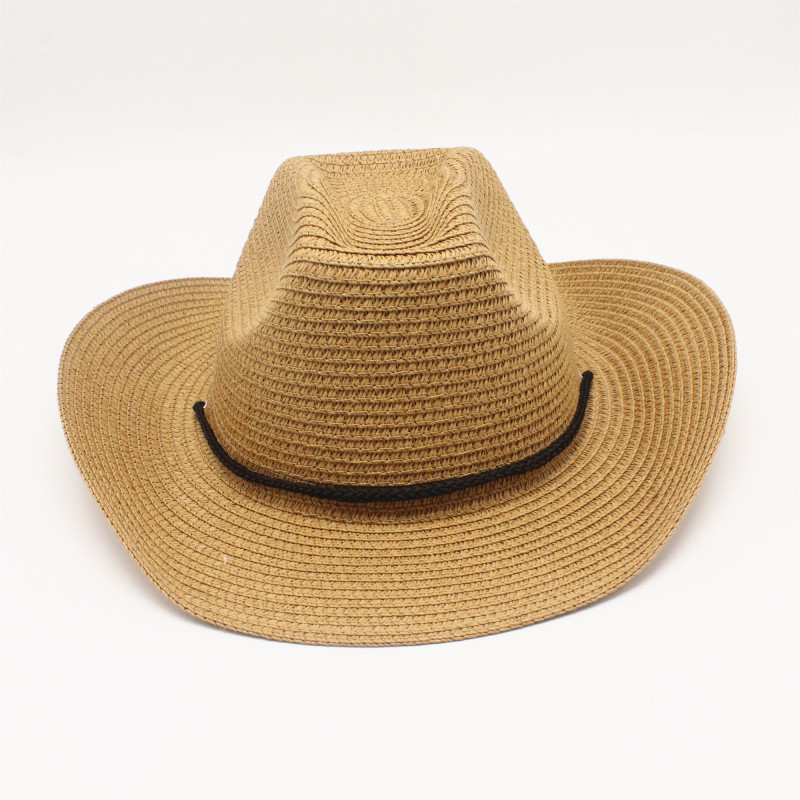 oZyc Summer casual sun hats for women fashion jazz straw for man beach sun straw Panama hat Wholesale and retail