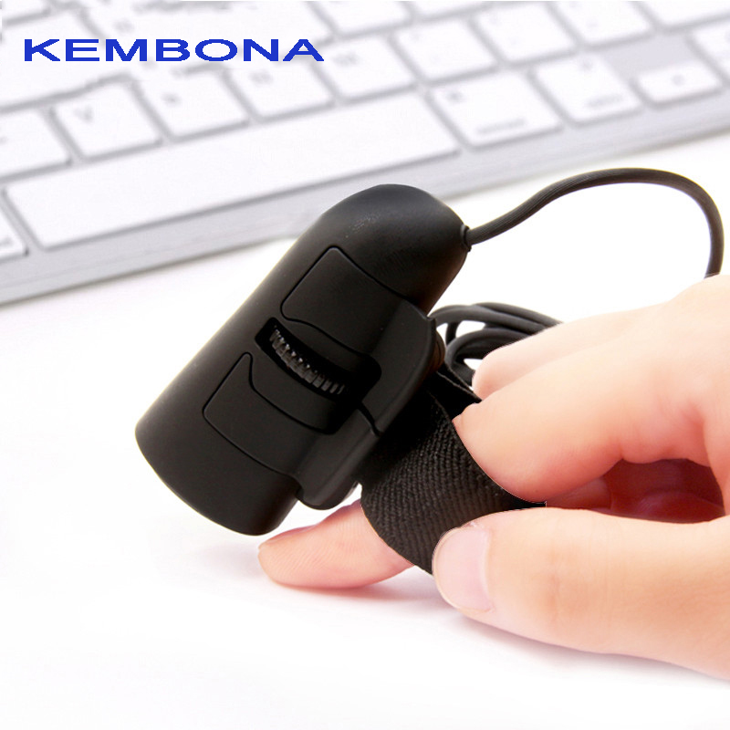 KEMBONA Wired Finger Mouse Mini 3D USB Optical Finger Mouse Mice Laptop PC 1200dpi 2017 newest 2 4ghz 3d 1200dpi wired optical mouse ultra slim 3 colors high quality mice usb for pc laptop