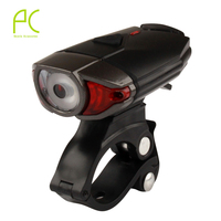 PCycling Cycling LED Helmet Headlight 3W 300LM CREE Chip Lamp Night Lighting Safety USB Rechargeable Bike