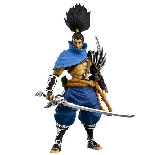 NEW hot 16cm Yasuo collectors action figure toys Christmas gift doll цена