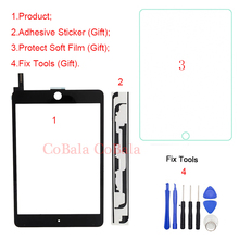 """1Pcs Für iPad Mini 4 Mini4 4th Gen 7.9 """"A1538 A1550 Touchscreen Digitizer Vorderen Äußeren Panel Glas reparatur Ersatz + Werkzeuge"""