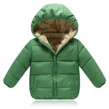 Children Outerwear Coat Winter Baby Boys Girls Jackets Baby parkas