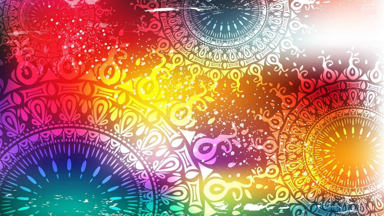 Psychedelic Trippy Art Fabric poster 24\