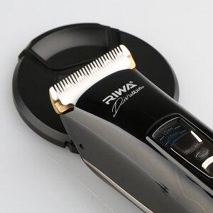 Image 4 - RIWA X7 เคราไฟฟ้า Trimmer Hair Clipper Professional Hairclipper เครื่องโกนหนวดสำหรับผู้ชาย 100 240V ตัดผมเครื่อง
