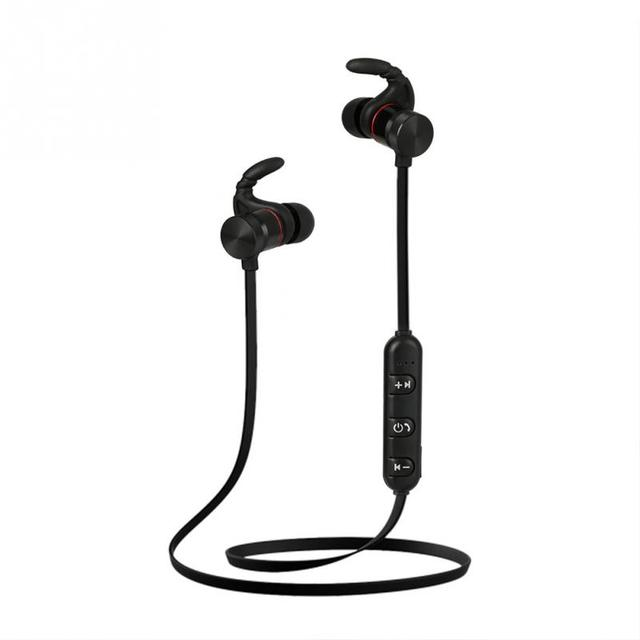 eed76019667 OY8 Wireless Bluetooth Earphones Metal Magnetic Sport Running Headphones  Stereo Super Bass Headsets Earbuds With Mic