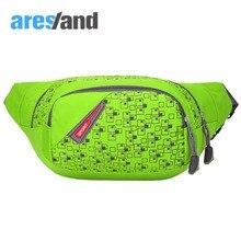 ARESLAND Waterproof Waist Bag for Men Use Women Waist Packs Fanny Packs Daily Messenger Bag Casual Coin Purse Nylon