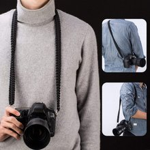 High Quality Paracord 550lb Quick Release Camcorder Shoulder Belt DSLR Camera Neck Strap for Canon 1300d/Sony a6000/Nikon d5300