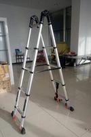 М 2,1 м + 2,1 многоцелевой утолщаются складные лестницы телескопические лестницы двойного назначения эстакада лестница Прямая лестница