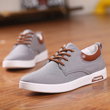 Classic Casual Mens Flats Breathable Shoes