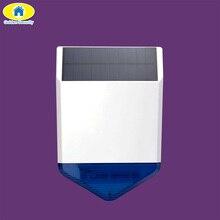 Golden Security Wireless SJ1 Outdoor Solar Strobe Siren for G19 G18 W193 KERUI Alarm System Security Home Flashing Loudly Sound