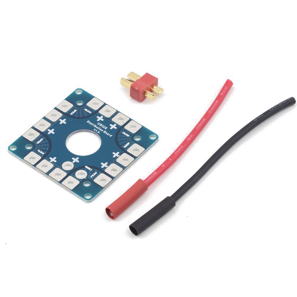 1pcs MultiCopter Multi-Quad Copter Power Battery To 8 ESC Connection Board