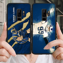 Yinuoda Phone Case For NFL Los Angeles Rams Samsung Galaxy S10 S9 8Plus S6 S7 Edge Carson Todd Gurley Soft TPU Lite