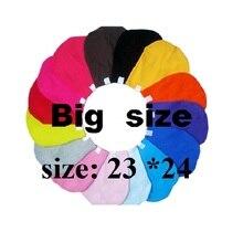 10 шт./лот, большой размер 23*24, шляпа, защита для волос, Шапка-бини, шапка для разноцветных взрослых