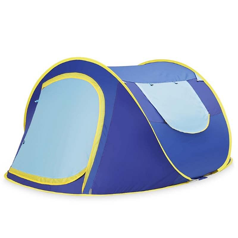 Tentes automatiques extérieures sautent les tentes imperméables de camping de randonnée tentes imperméables 3-4r tentes de famille de personnes