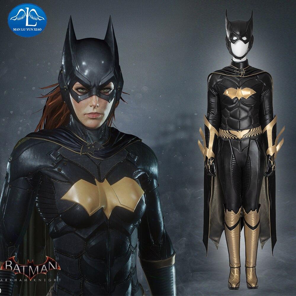 MANLUYUNXIAO New Arrival Women Costume Batgirl Cosplay Costume Halloween Batgirl Costume For Women Custom Made Women Basic