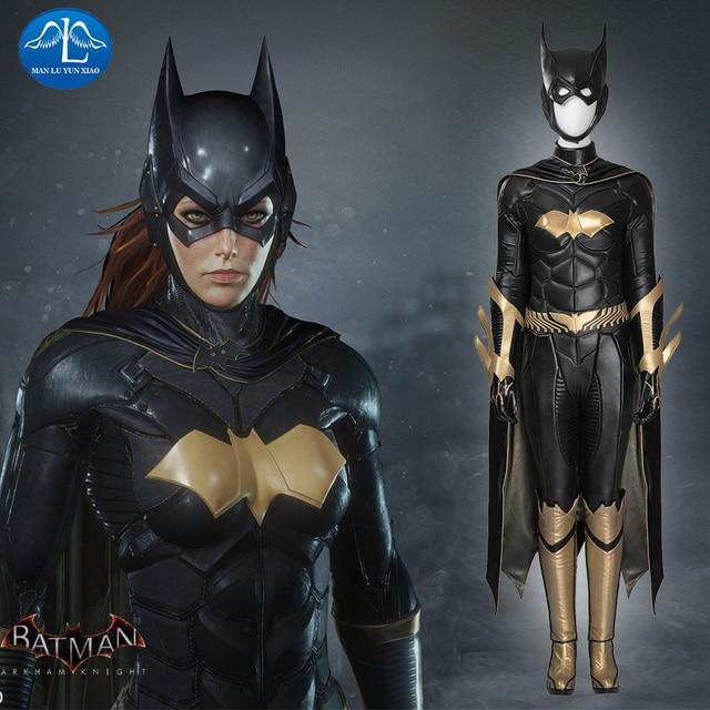 MANLUYUNXIAO, Новое поступление, женский костюм, костюм Бэтгерл, карнавальный костюм на Хэллоуин, костюм Бэтгерл для женщин, на заказ, базовый женский костюм