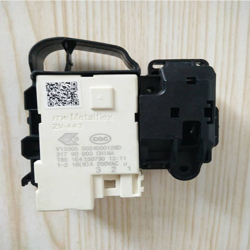 все цены на 1pcs Original for Haier for LG washing machine electronic door lock delay switch 0024000128A 0024000128D Washing machine parts