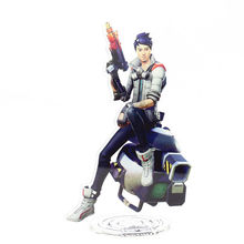 Fortnite Character Stand Action Figure Toy Acrylic Fashion Table Desk Decor  21cm