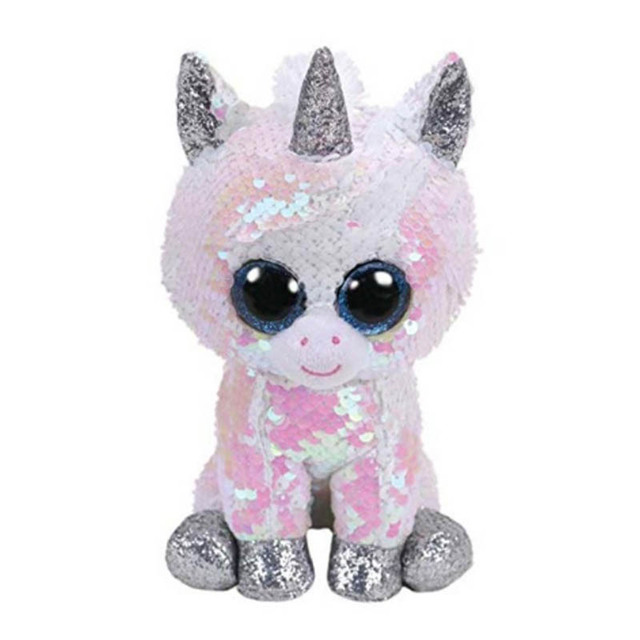 49b5d8cd51c Ty Beanie Boos Big Eyes Sequin Owl Sequin Unicorn Sequin Cat Stuffed  Animals Plush Toys
