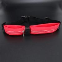 LED Sports Pocket Multi Function Waist Bag Unisex Waist Pocket Waterproof USB Charging