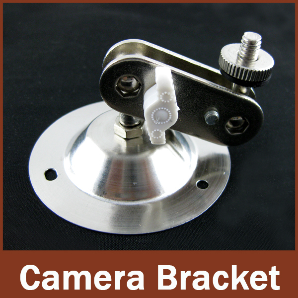 4pcs lot White Wall Mount or Bracket For CCTV Camera mount