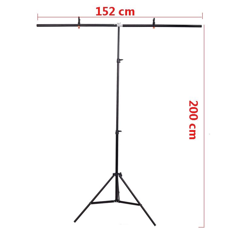 Envío Gratis foto telón de fondo Stand Foto fondo apoyo PVC Fondo titular foto 152 cm X 200 cm o 66X80 CM