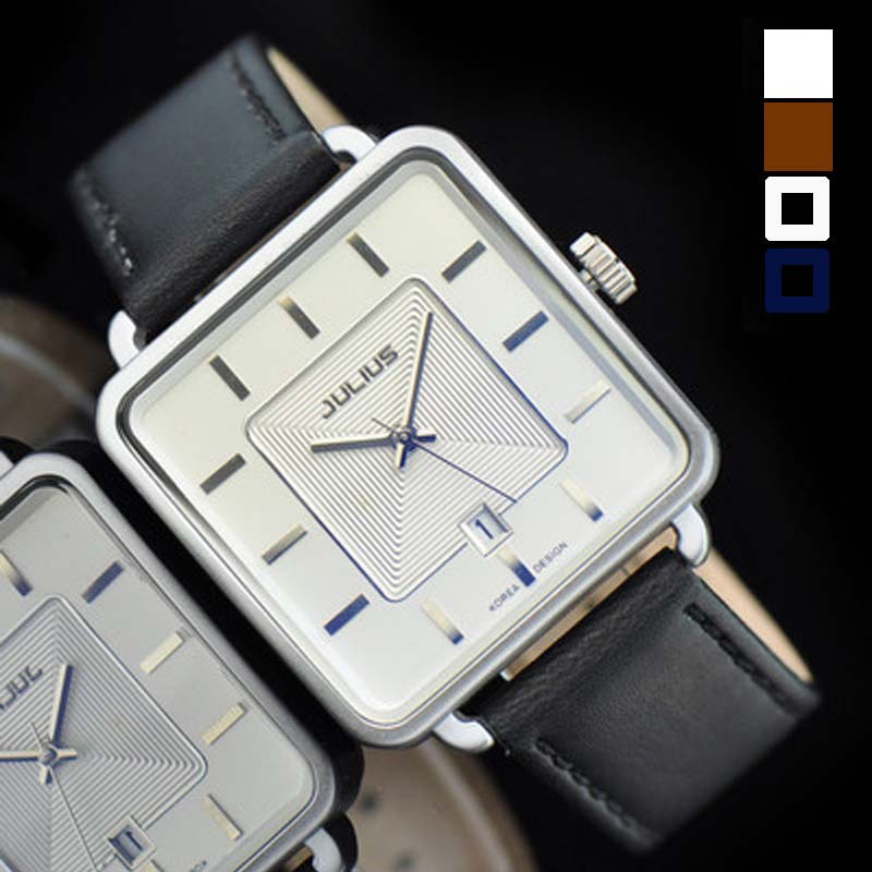 Men s Homme Wrist Watch Japan Quartz Hours Best Fashion Dress Retro Bracelet Band Leather Business