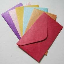 120gsm Haute Qualite Perle Enveloppe Pour Carte De Visite VIP Membre Mini Enveloppes