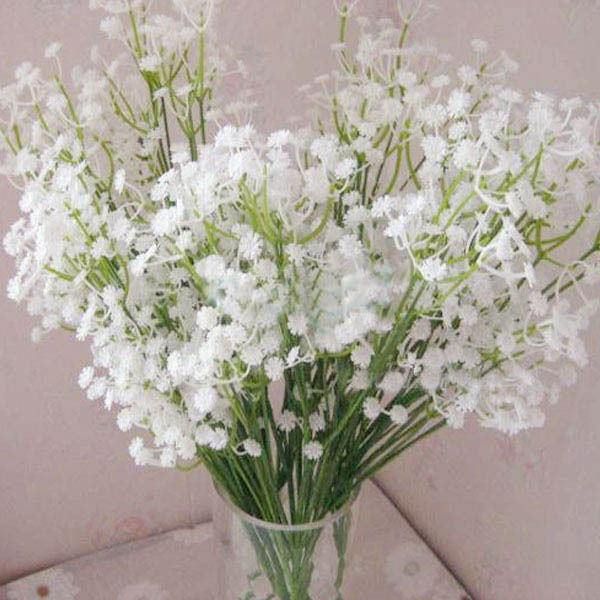 5pcs atificial babys breath gypsophila wedding plastic flowers 5pcs atificial babys breath gypsophila wedding plastic flowers white home decor in artificial dried flowers from home garden on aliexpress mightylinksfo