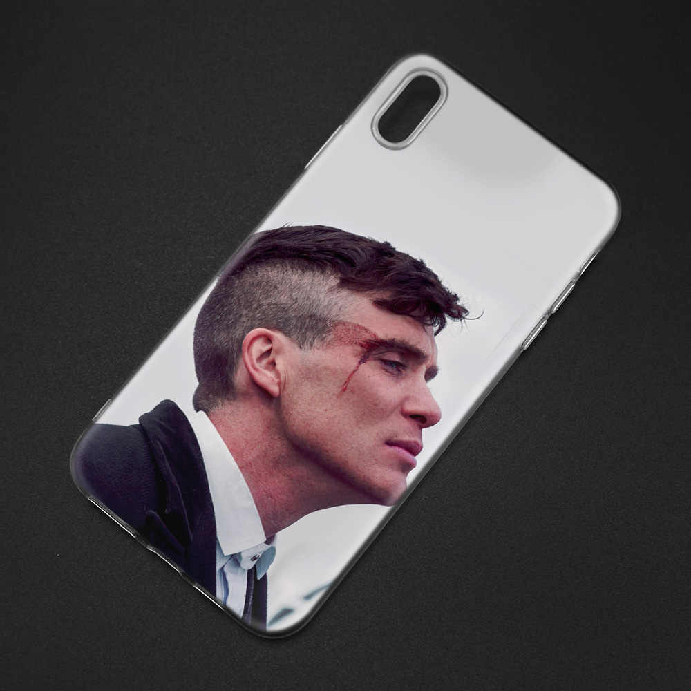Siliconen Case Voor iPhone 7 5 5S SE 5C 6 6S 8 11 11Pro X XR XS MAX cover Peaky Blinders Man Cover voor iPhone 7 7s 6 6s 8 8s Plus