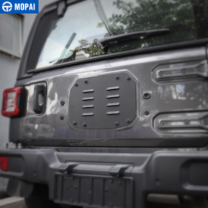Image 3 - MOPAI Car Styling Mouldings for Jeep Wrangler JL 20118 Car Tailgate Exhaust Air Vent Cover for Jeep JL Wrangler Accessories
