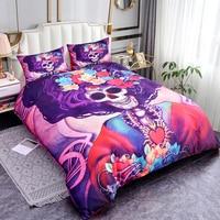 ZEIMON Soft Bedding Set Skull Printed 3D Bed Set Flowers Duvet Cover Pillowcase Women Bed Linen Set For Home Textiles Bedspread
