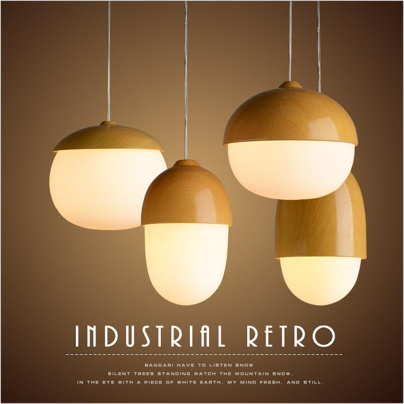 Modern design small cheap copy wooden color glass pendant light pendant lamp cafe bar dining room living room home lighting factory cheap amber smoky gray red coffee blue glass pendant lamp pendant light edison bulb bedroom dining room cafe kitchen bar