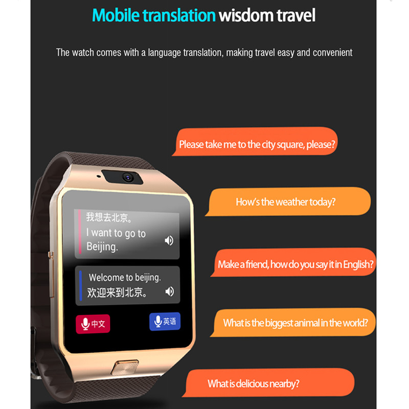 US $35 7 30% OFF|3G Wifi GPS Android Smart Watch support Whatsapp and  Facebook Reminder for huawei reloj intelligent masculino+free headset-in  Smart