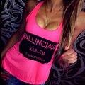 2017 Новая Мода Женщин Лето Ночной Клуб Сексуальные Топы Party Club Жилет Топы Уличной Случайные Blusas Бюстье # A12506