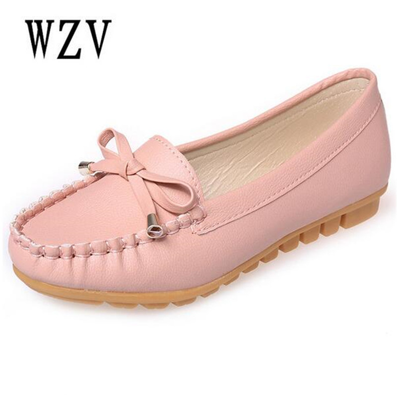 Flat Shoes Women Autumn Slip On Shoes For Women Loafers Moccasin Womens Zapatos Mujer Ballet Flats Womens Shoes Woman B46 pinsen women flat platform shoes woman moccasin zapatos mujer platform sandals slip on for ladies shoes casual flats moccasins