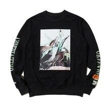 New Heron Preston Hoodies Men Women Streetwear Hip Hop Embroidery Cotton Harajuku Sweatshirts Vetements Hoodie