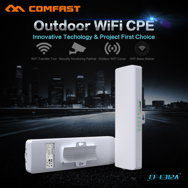 300Mbps wifi range extender repeater Antenna wifi 5.8Ghz high power wireless bridge WIFI transmission 2KM CPE Nanostation router comfast high power wifi repeater outdoor cpe wifi router extender 2km distance 300mbps wds wireless bridge antenna routers