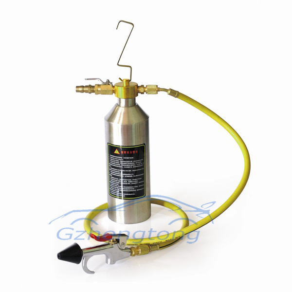 Auto Air Condition AC System Flush Canister Gun Kits Clean Tool Set R134 R12 R22 R410 R404 evaporator condenser cleaning tool недорого