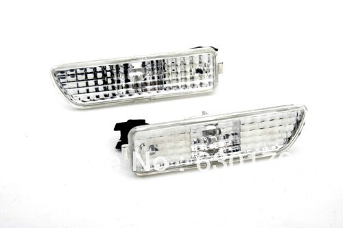 Clear Front Bumper Side Marker Light For VW Volkswagen Golf MK4 golf cap clip golf ball marker set