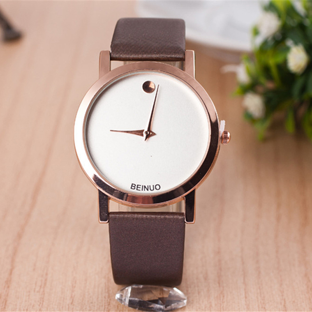 Women Creative Watches Fashion Clock Business Men Watch Faux Leather Band Analog Display Quartz Wristwatches Dress Watch Relogio